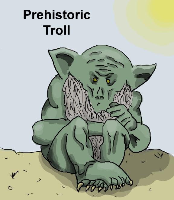 Prehistoric Troll
