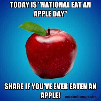 National Eat an Apple Day